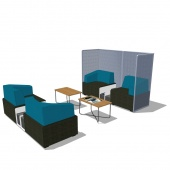 Steelcase B Free Lounge - Intera